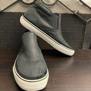 Vans Men's SlipOn Mid MTE Black & White Shoes Sz13